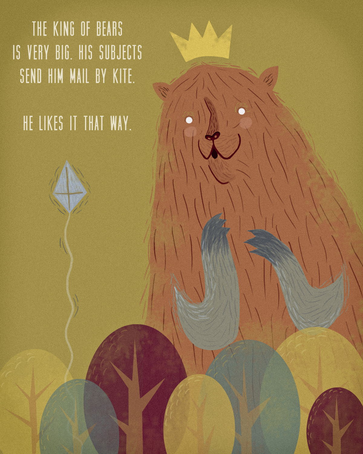 the bear king. | sarahgoodreau