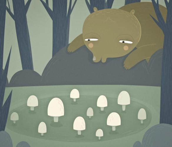 BearFindsTheMushrooms