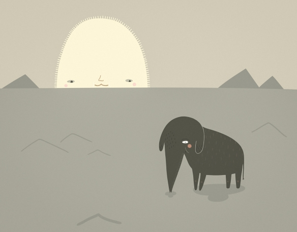 ElephantInTheDesert